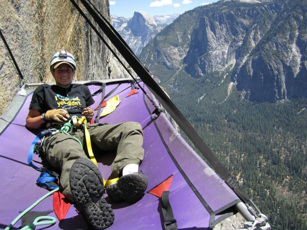 sleeprocks04 Ночевка на отвесных скалах парка Йосемити