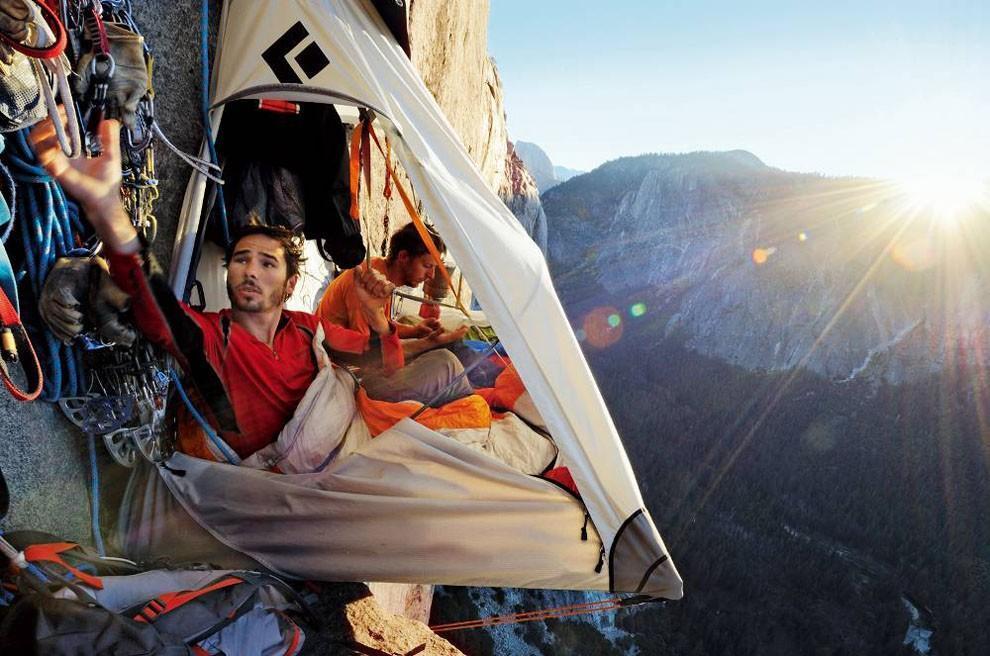 sleeprocks07 Ночевка на отвесных скалах парка Йосемити