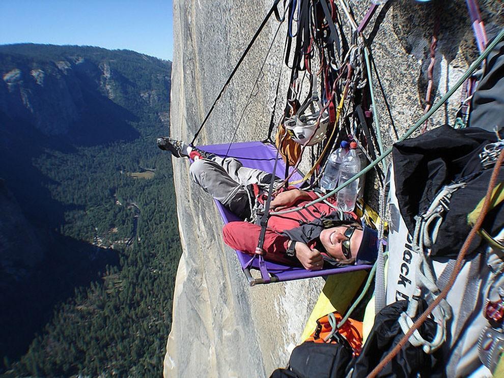 sleeprocks08 Ночевка на отвесных скалах парка Йосемити