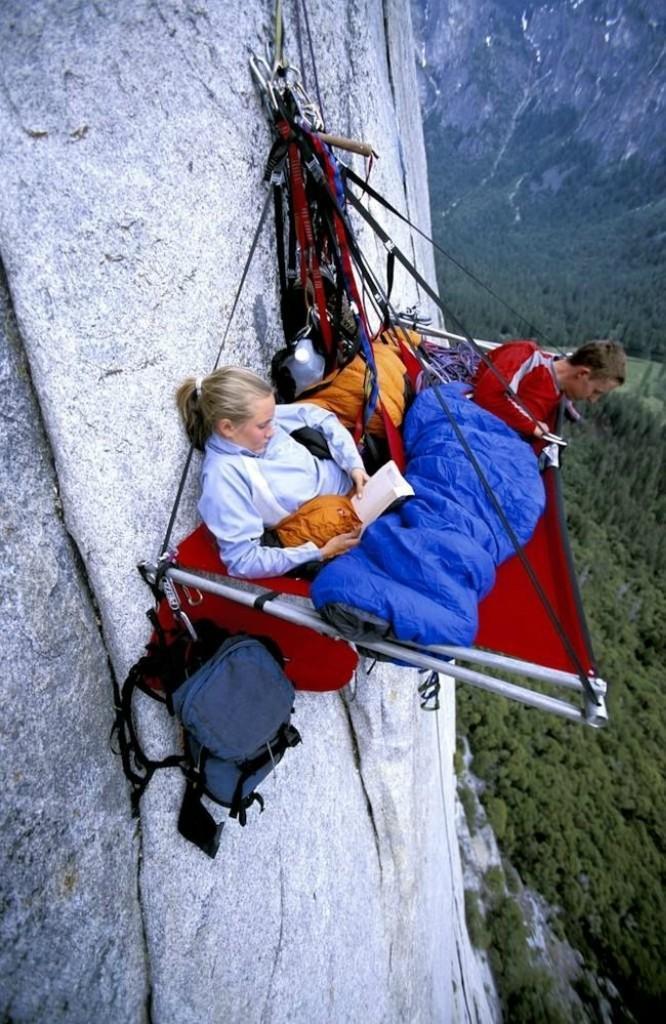 sleeprocks09 Ночевка на отвесных скалах парка Йосемити