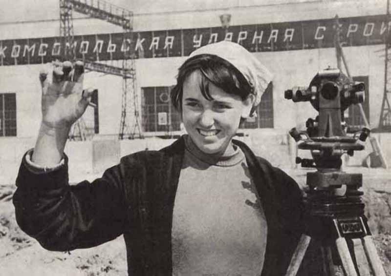 sovietwoman16 Советская женщина в фотографиях
