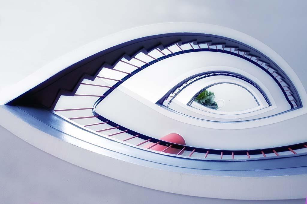 spiralnielestnici 11 Головокружительная красота спиральных лестниц