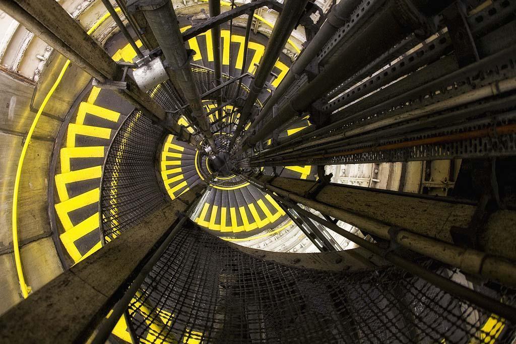 spiralnielestnici 14 Головокружительная красота спиральных лестниц