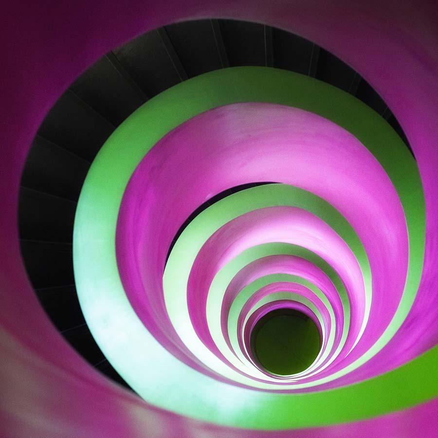 spiralnielestnici 15 Головокружительная красота спиральных лестниц