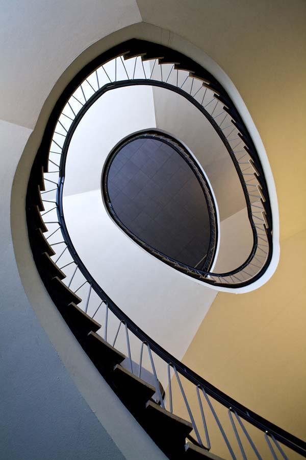 spiralnielestnici 17 Головокружительная красота спиральных лестниц