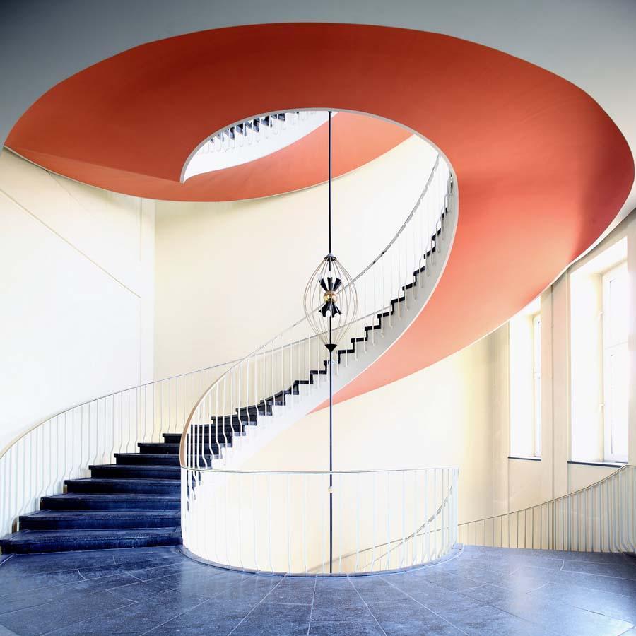 spiralnielestnici 19 Головокружительная красота спиральных лестниц