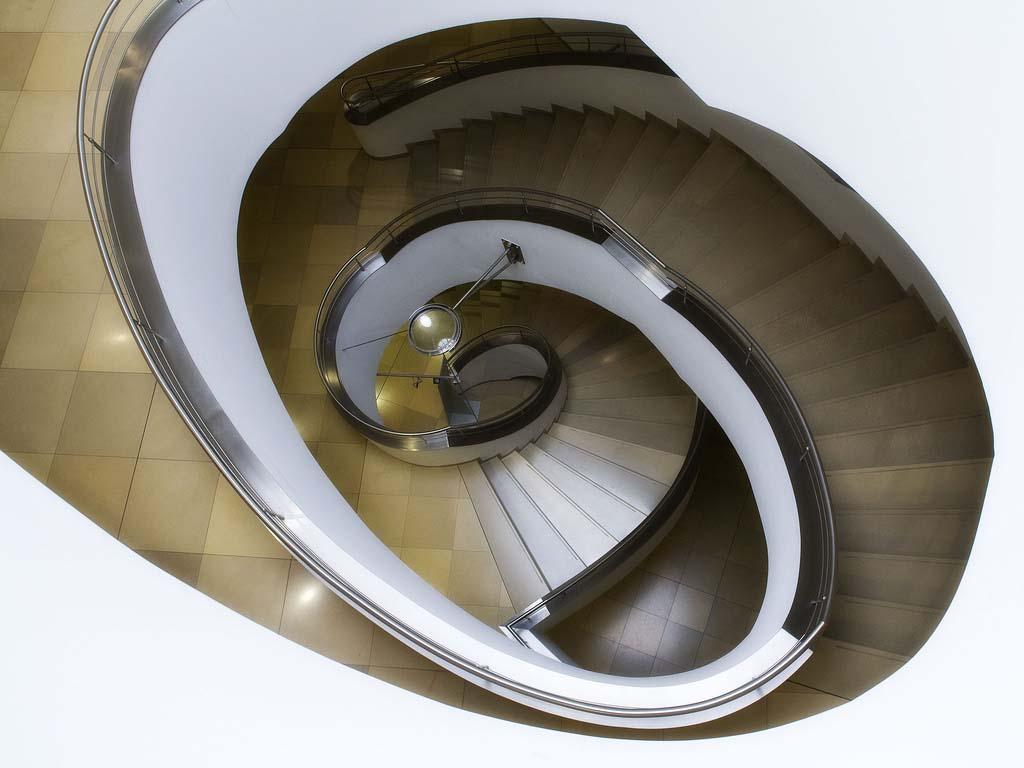 spiralnielestnici 21 Головокружительная красота спиральных лестниц