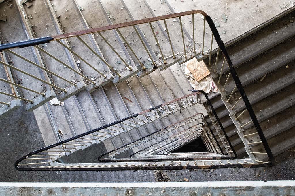 spiralnielestnici 23 Головокружительная красота спиральных лестниц