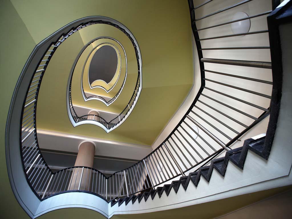 spiralnielestnici 24 Головокружительная красота спиральных лестниц