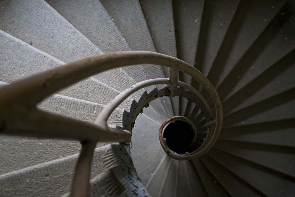 spiralnielestnici 25 Головокружительная красота спиральных лестниц