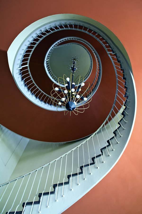 spiralnielestnici 27 Головокружительная красота спиральных лестниц
