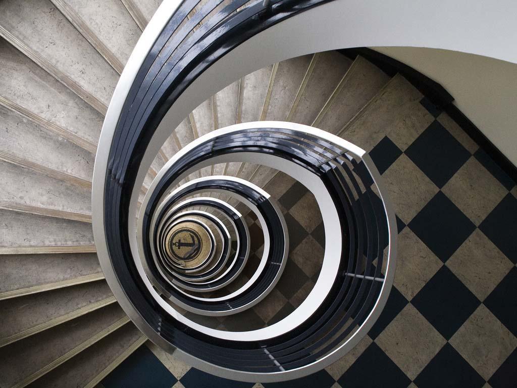 spiralnielestnici 29 Головокружительная красота спиральных лестниц