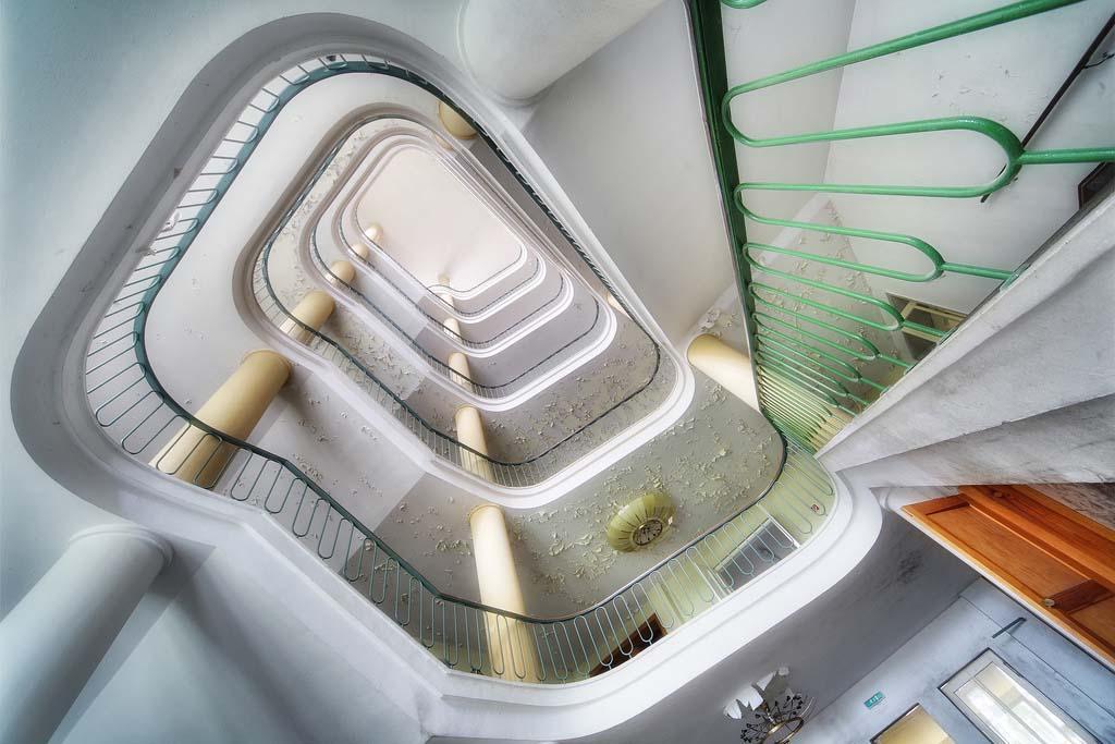 spiralnielestnici 3 Головокружительная красота спиральных лестниц