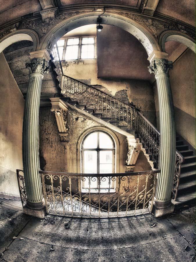 spiralnielestnici 30 Головокружительная красота спиральных лестниц