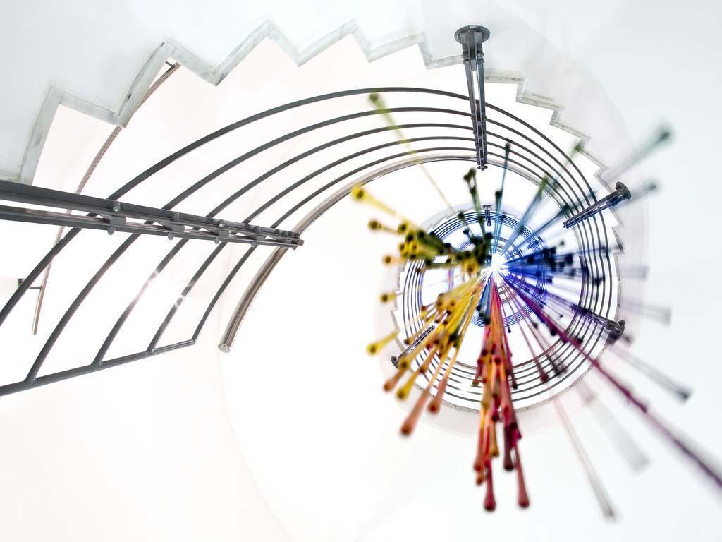 spiralnielestnici 4 Головокружительная красота спиральных лестниц