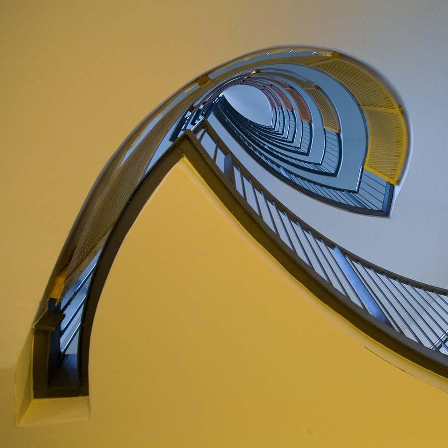 spiralnielestnici 7 Головокружительная красота спиральных лестниц
