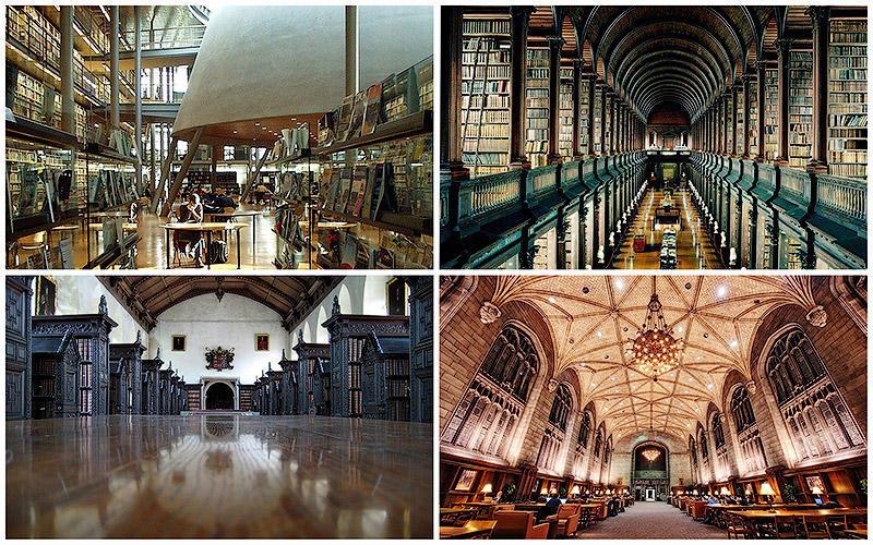 temp15 Топ 10 самых красивых университетских библиотек мира