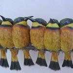 Невероятно реалистичные бумажные 3D птицы