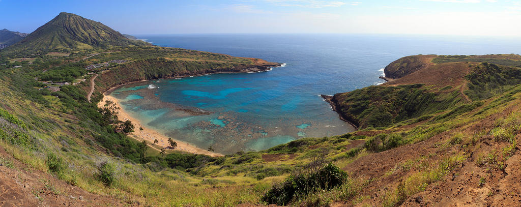 5460056068 ff51064f46 b Земной рай   гавайский пляж внутри древнего кратера