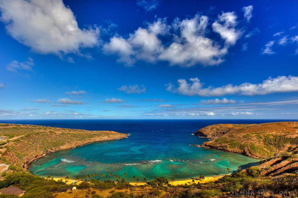 6082162096 b23b6e5fcd b Земной рай   гавайский пляж внутри древнего кратера
