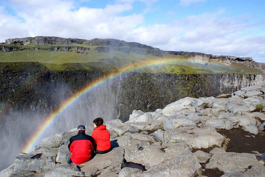 870 5830 Самый мощный водопад Европы: Деттифосс