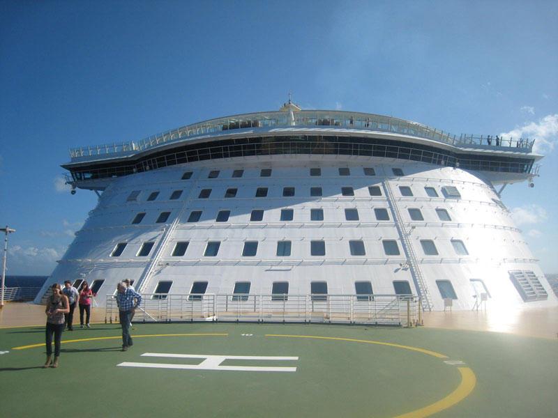 AllureoftheSeas16 Как устроен самый большой круизный лайнер в мире