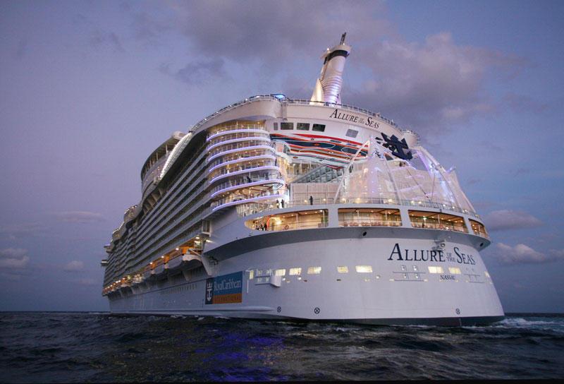 AllureoftheSeas36 Как устроен самый большой круизный лайнер в мире