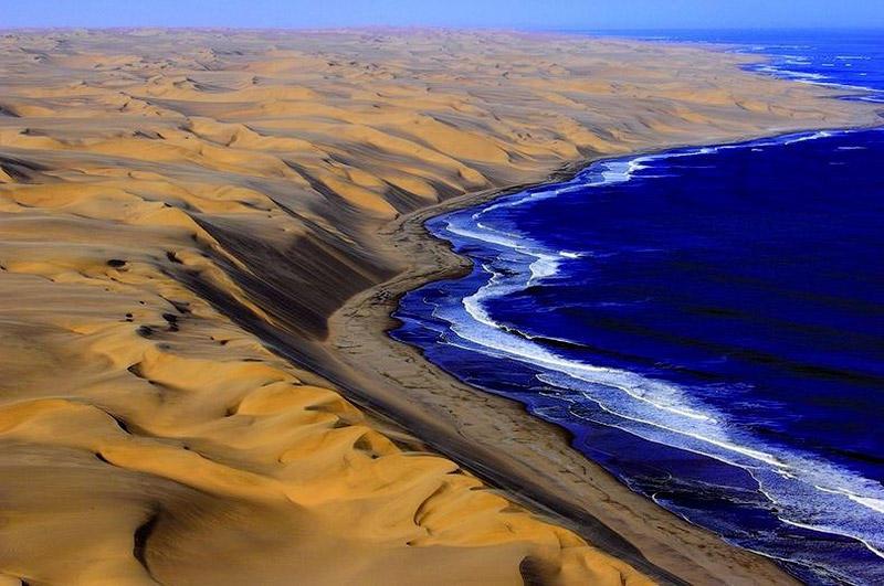 Там где пустыня встречается сводой