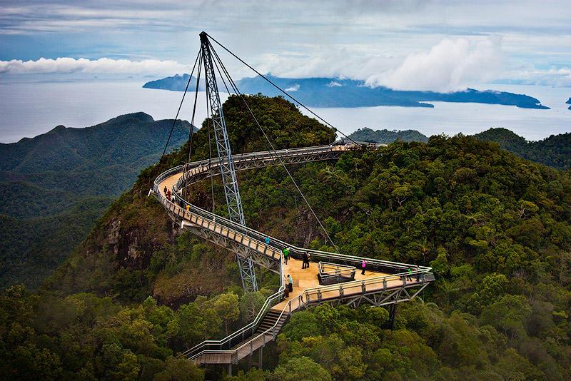 BIGPIC58 Удивительный небесный мост Лангкави