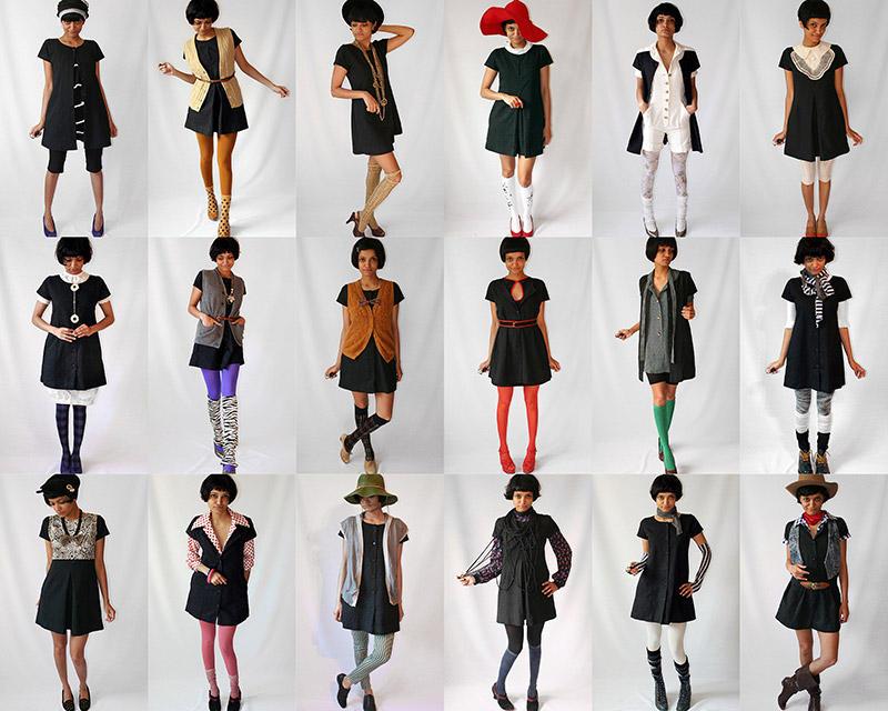 BIGPIC6 Испытание стилем   целый год в одном платье
