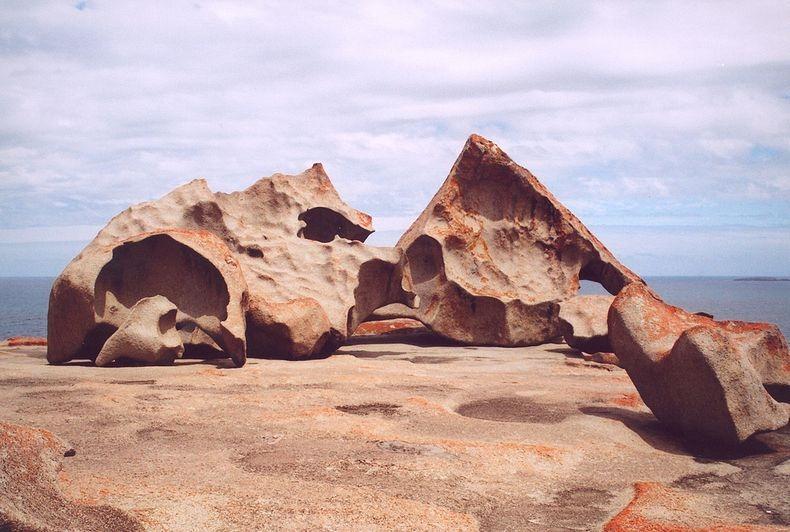 FlindersChase01 Необычные скалы в Австралии