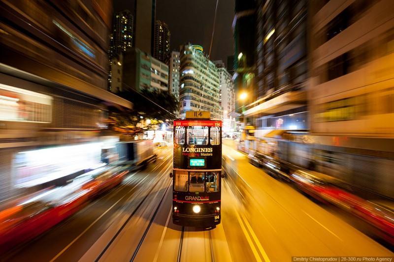HonKongTram00 800x533 Гонконгский трамвай