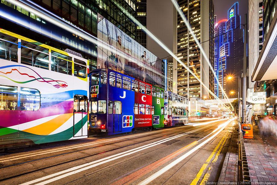 HonKongTram01 Гонконгский трамвай