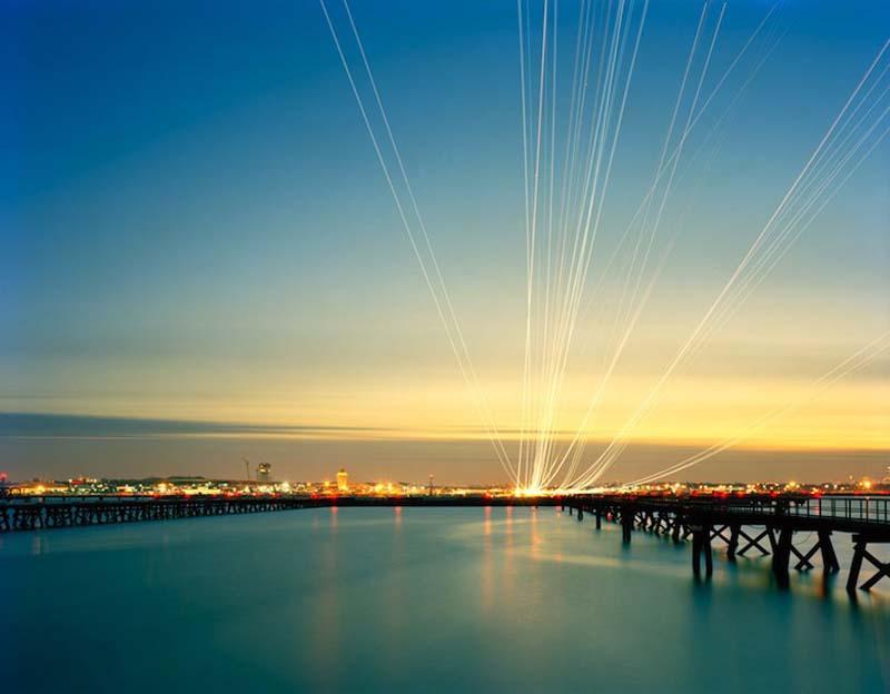 KevinCooley1 Ослепительные световые следы самолетов
