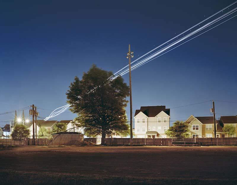 KevinCooley10 Ослепительные световые следы самолетов