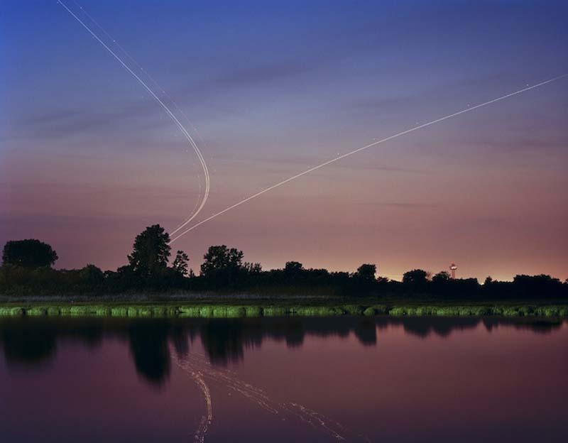 KevinCooley5 Ослепительные световые следы самолетов
