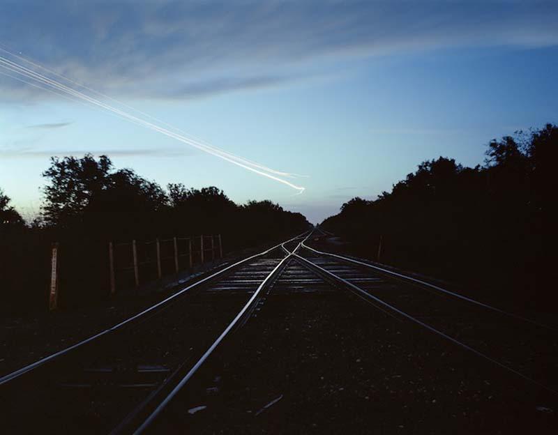 KevinCooley9 Ослепительные световые следы самолетов