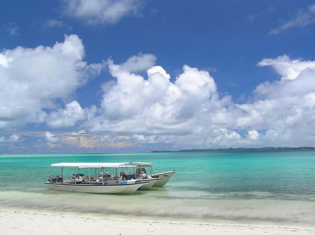Palau01 15 пейзажных фотографий Палау