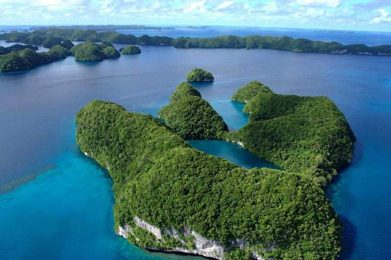 Palau11 800x532 15 пейзажных фотографий Палау