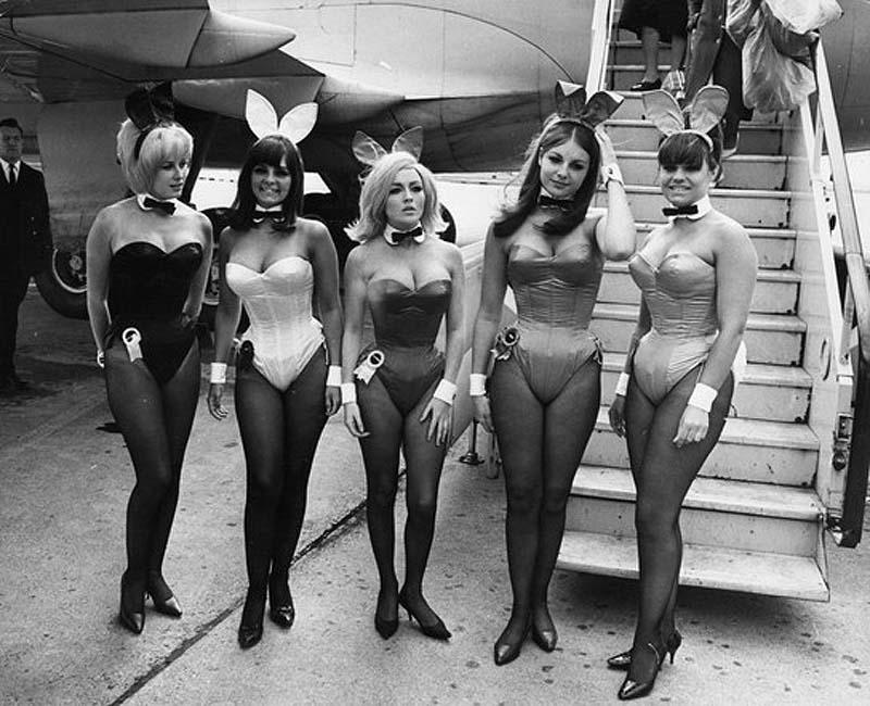 Playboy Bunnies 40 Ретро фотографии зайчиков Playboy
