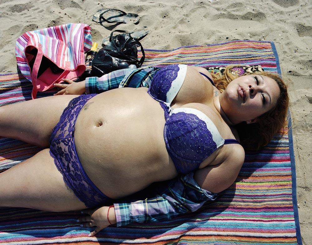 Purple Пляжники Кони Айленда