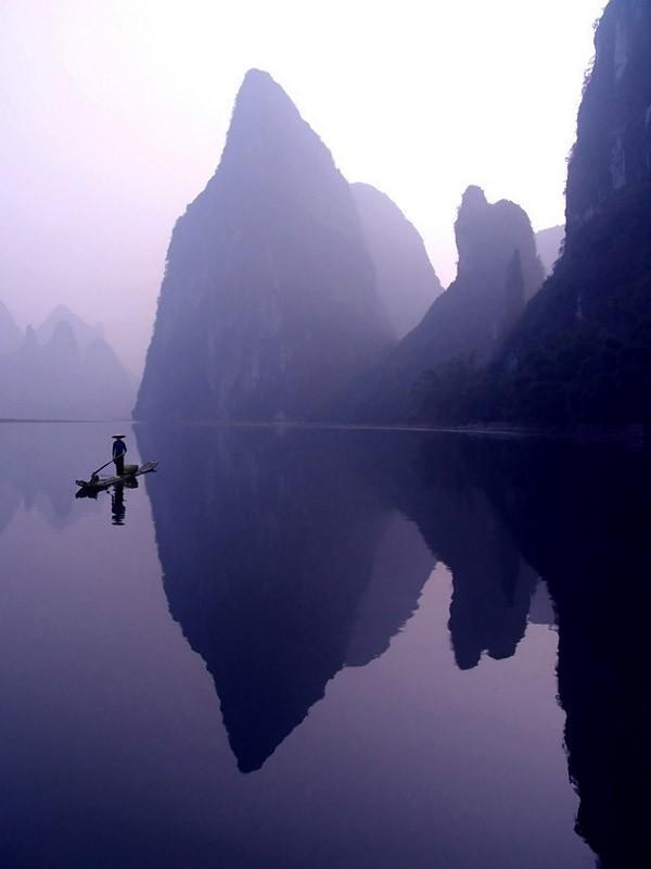 Riverof03 Красивые пейзажи китайской реки поэтов и художников