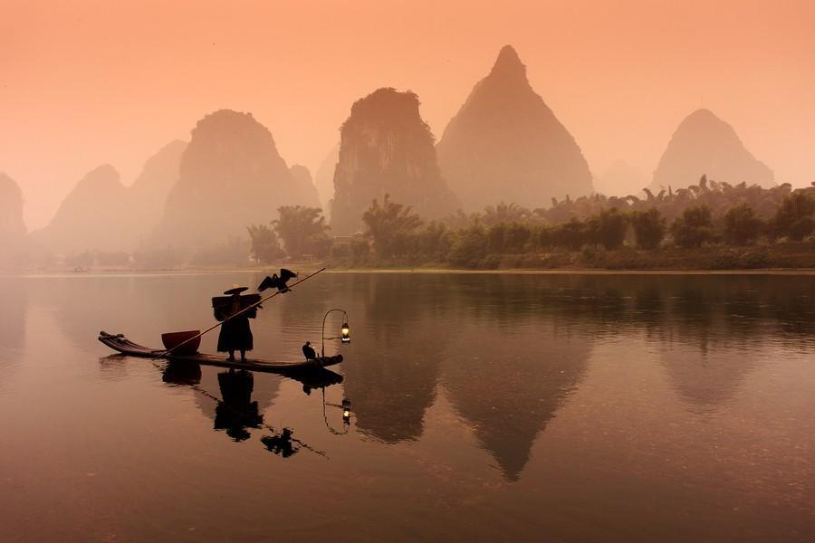 Riverof05 Красивые пейзажи китайской реки поэтов и художников