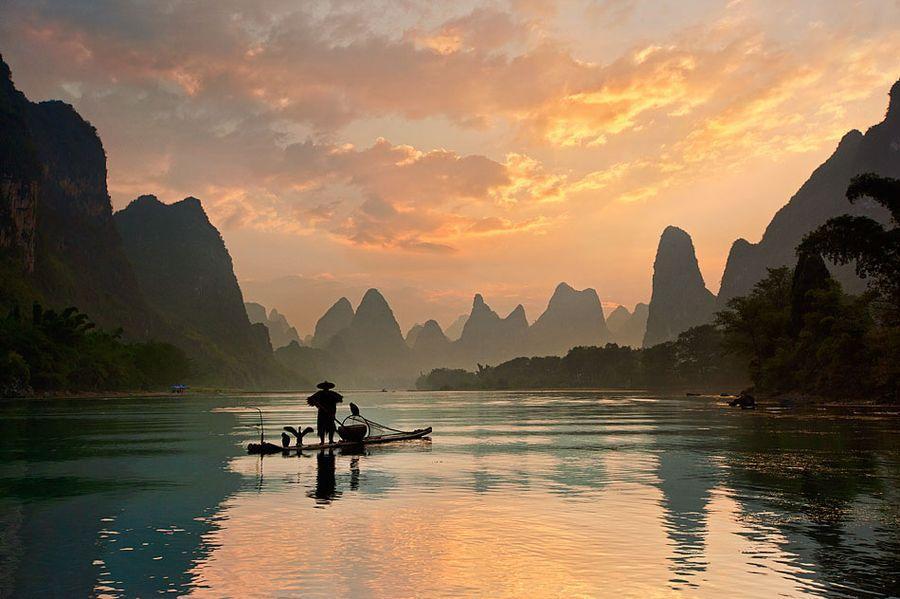 Riverof06 Красивые пейзажи китайской реки поэтов и художников