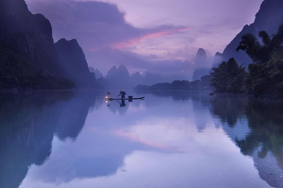 Riverof07 Красивые пейзажи китайской реки поэтов и художников