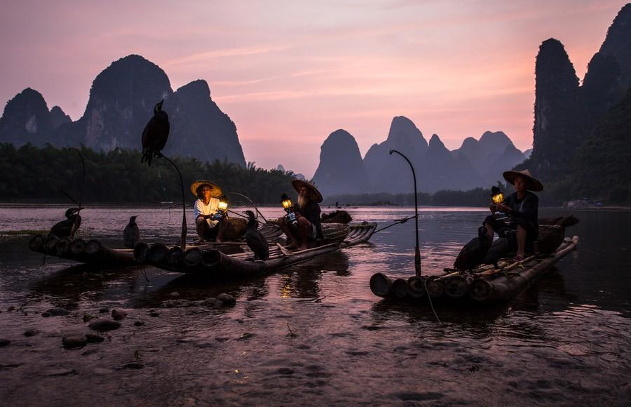 Riverof09 Красивые пейзажи китайской реки поэтов и художников