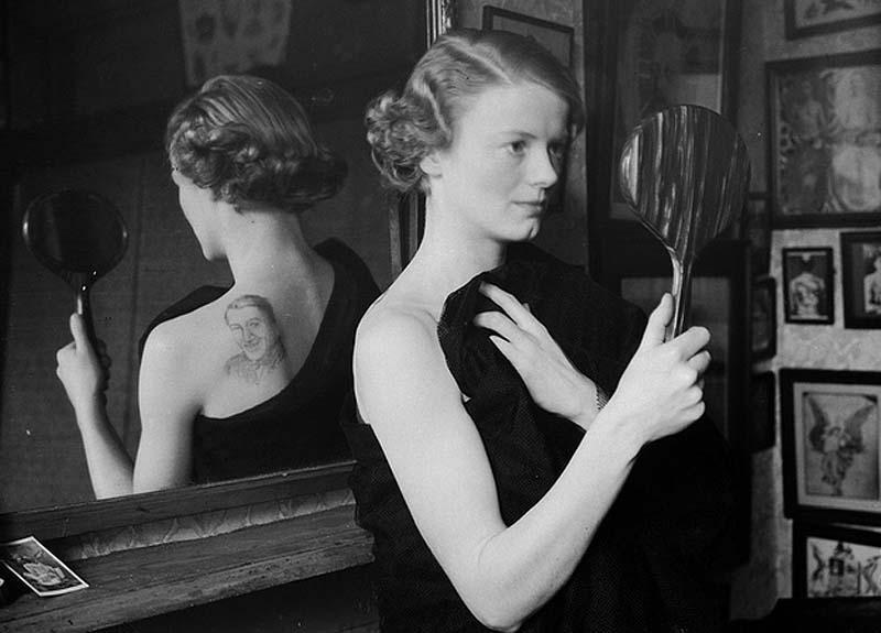 Women With Tattoo 11 Старинные портреты татуированных женщин