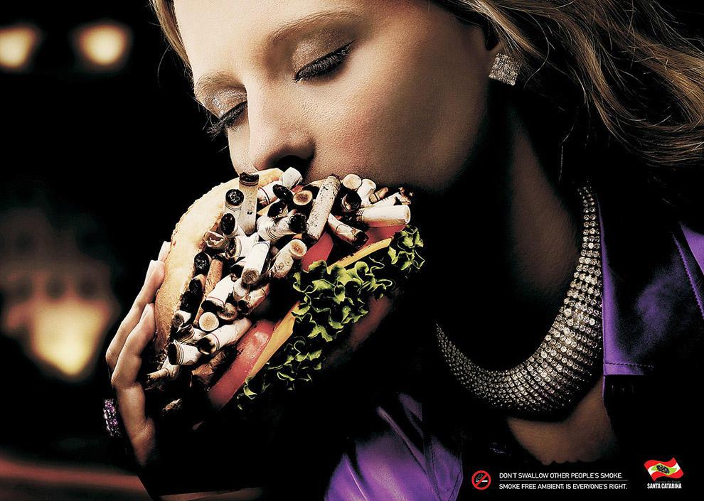 antitabachnayareklama 13 18 шедевров антитабачной рекламы со всего мира