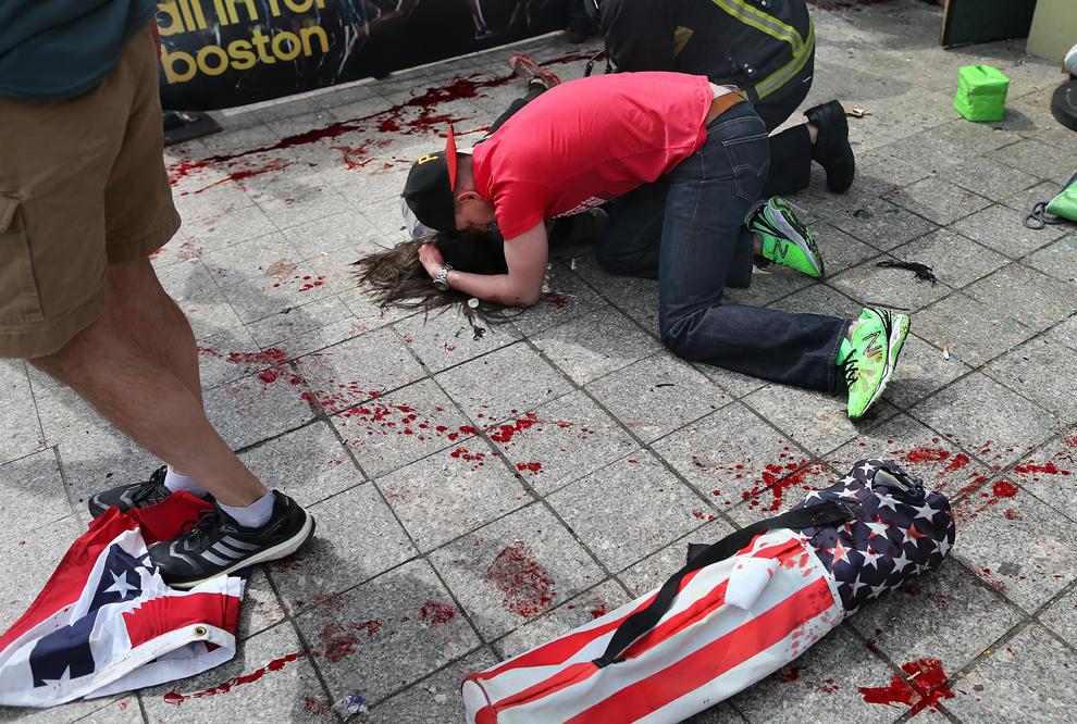 bp12 Взрыв на марафоне в Бостоне   первый теракт в США после 9/11