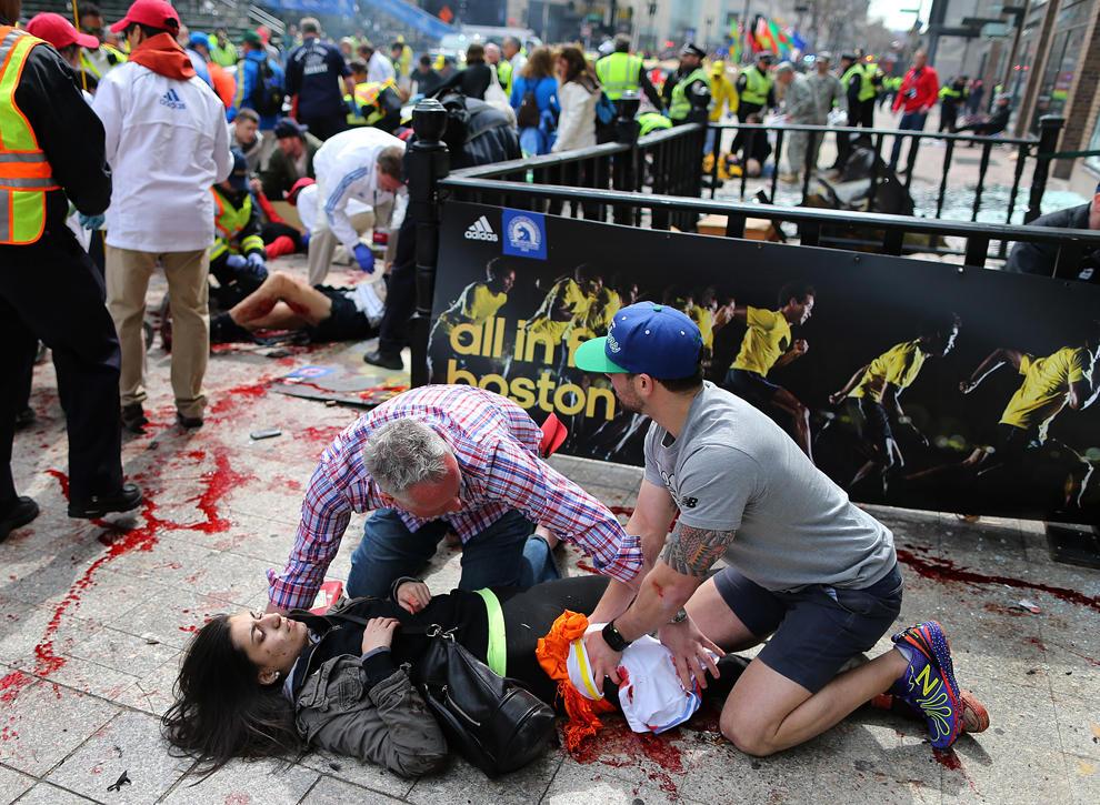 bp9 Взрыв на марафоне в Бостоне   первый теракт в США после 9/11